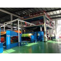 Ss Type PP Spun Bond Non Woven Production Line , fabric processing machinery Manufactures