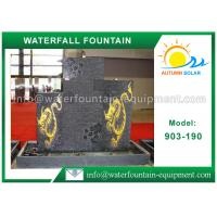 Outdoor Waterfall Fountain Cast Stone Outdoor Fountains For Garden Decoration Manufactures