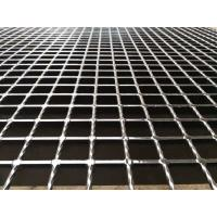 China Serrated 32x5mm Galvanized Steel Wire Mesh Grating For Construction on sale