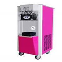 Pink Soft Serve Ice Cream Machine , 26 L/H Capacity Commercial Ice Making Machine Manufactures