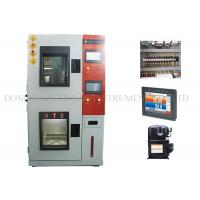 Heat / Cold Humidity Climatic Test Chamber Double Layers Insulated Airtight Doors Manufactures
