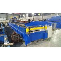 Roof Wall Panel IBR Trapezoidal Roll Forming Machine Metal PPGI Galvanized Steel Profile Lines Manufactures