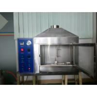 Stainless Steel Flammability Testing Equipment For Fireproof Building Materials ISO 11925-2 Manufactures