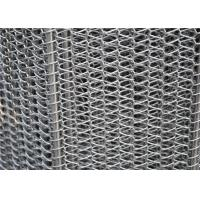 304 316 316L 430 310 Stainless Steel Wire Mesh Conveyor Belt With Chian Alkali Resistant Manufactures