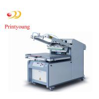 Semi - Automatic Paper / Label Silk Screen Printing Equipment 380V 3kw Manufactures