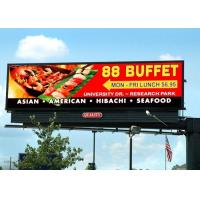 HD outdoor front service P10 P8 P6.67 led billboard display video wall IP65 for advertising and events Manufactures