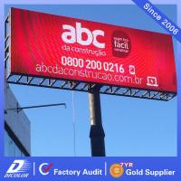 Outdoor P20 Mesh Rental Led Display Panel 2500dot/m2 For Commercial Advertising Manufactures