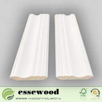 Decorative White Primed Natural Wood Standard Smooth Crwon Moulding for Ceiling Manufactures