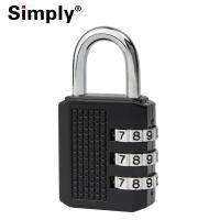 Zinc Alloy Luggage Combination Padlock With Anti Shearing & Anti Shooting Functions Manufactures