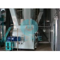 Electric Feed Pellet Production Line / Animal Feed Pellet Machine 3 ~ 5t/h Manufactures