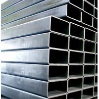 High Weight Bearing Rectangular Steel Pipe 35mm Od Steel Pipe With Grooves Manufactures