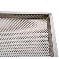 Stackable Perforated Stainless Steel Tray Food Grade Rectangle Baking Tray Manufactures