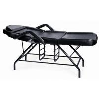 China Leather Flame-retardant sponge,Spraying chassis,Plastic rubber basin Black Facial Bed on sale