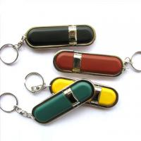 Bootable leather usb flash disks withe keychain Manufactures