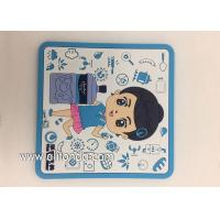 Factory Supply Soft PVC rubber Table Coasters for promotion gifts Manufactures
