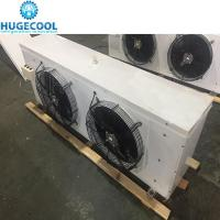 China Electric Powered Cold Room Air Cooler Dual Fans Condensers For Cold Storage for sale