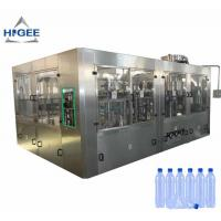 500ml Automatic Water Filling Machine Small Scale Water Bottling Production Line Manufactures