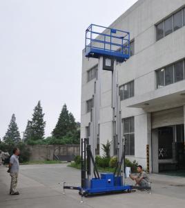 Mobile Dual Mast Vertical Access Platform Aerial Work Platform Manufactures