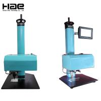 Nameplate Pneumatic Marking Machine Price For VIN ,2D Codes ,Logo / Dot Peen Engraving Marking Machine For Sale Manufactures