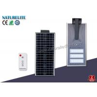 Intelligent Integrated 60W Solar LED Street Light with Rechargeable Batteries Back-up for Highway Light Manufactures