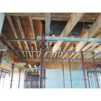 China Heavy duty loading metal concrete formwork / durable folding scaffolding system on sale