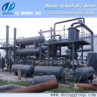 DOING waste plastic recycling machinery with mature technology China supplier Manufactures