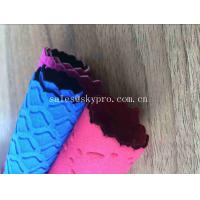Colorful Professional Flexibly SBR Neoprene Fabric Roll Pattern Non - toxicity Environmental Protection Manufactures