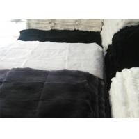 Natural Soft Fluffy Rex Rabbit Skin 12 X 15 Inches For Making Chair Covers Manufactures