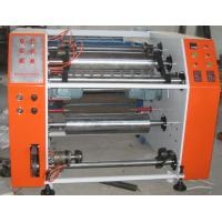 Buy cheap Pre stretch film roll slitting rewinding machine from wholesalers
