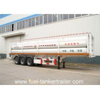 8 Cylinder CNG Tank Trailer for Transporting Compressed Natural Gas Manufactures