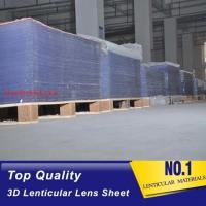 3D Plastic Lenticular Lens Sheet 20 LPI flip lenticular effect thickness 3 mm for injekt and digital printer Vietnam Manufactures