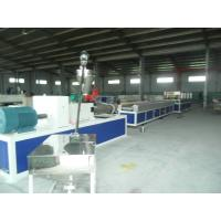 Plastic Profile Production Line , High Speed Double Screw Extruder Manufactures