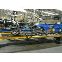 Special Steel Robotic Welding Workcell With Full Automatic Control Cabinet Manufactures
