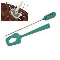 Instant Read Silicone Digital Spatula Chocolate Candy Deep Fry Thermometer with stainless steel probe Manufactures