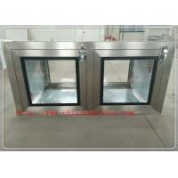 Professional Clean Room Equipment Pass Through Window 220V / 50Hz Manufactures