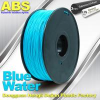 Rapid Prototyping Material  ABS Filaments For RepRap 3D Printer 1.75mm / 3mm Manufactures