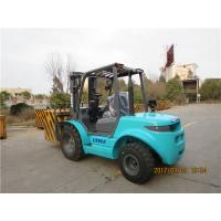 Automatic Small Rough Terrain Forklift  3 Ton 3.5 Ton ATV Forklift For Outdoor Manufactures