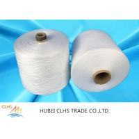 China Low Shrinkage Polyester Ring Spun Yarn , Core Spun Polyester Sewing Thread on sale