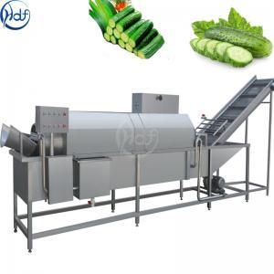 Multifunctional Drum Type Vegetable Washing Machine 300 - 2000 Kg / H Capacity Manufactures