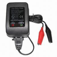 6V, 2A Lead Acid Car Battery Charger with Short Circuit Protection Manufactures