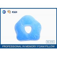 Premium Deluxe Memory Foam Office Sleep Pillow , Nap Pillow For Pressure Relief Manufactures