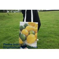 Promotion Custom Long Handle Cotton Canvas Bag,Tote Organic Best Cotton Reusable Produce Bags,New Arrival Customized Log Manufactures