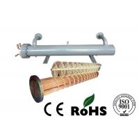 Air Conditioning Unit Tube and Shell Heat Exchanger Condensing Pipe Manufactures
