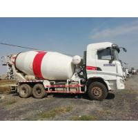 China SANY Used Concrete Mixer Trailer , Used Portable Cement Mixer 6*4 Drive Mode on sale