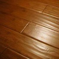 China ECO Distressed Solid Bamboo Flooring on sale