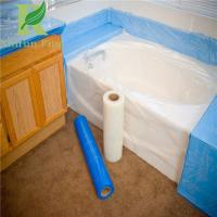 8 Mil Low Density Adhesive Clear Acrylic Bathtubs Protective Film Manufactures
