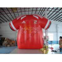 Beatiful Red Inflatable Marketing Products , Rental Inflatable Safety Suit Manufactures