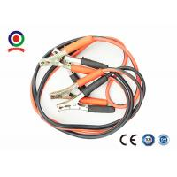 China Intelligent 400A Jump Leads Booster Cables , Red And Black Truck Booster Cables on sale