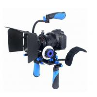 DSLR RIG Kit - Shoulder Mount RL-02 + Follow Focus + Matte box Kit For dv / hdv / dslr  Manufactures