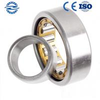 Low Friction NJ208 Cylindrical Roller Bearing / GCR15 Material Flanged Bearing Manufactures